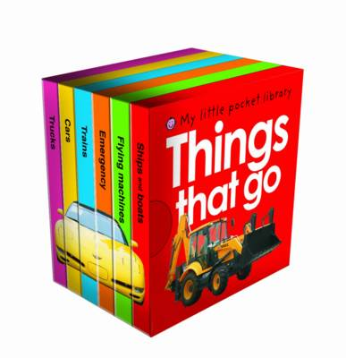 My Little Pocket Things That Go Library by Roger Priddy