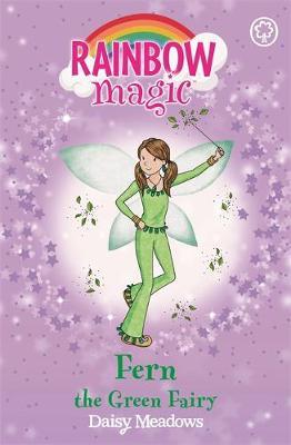 Fern the Green Fairy The Rainbow Fairies by Daisy Meadows