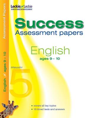 9-10 English Assessment Success Papers by Alison Head