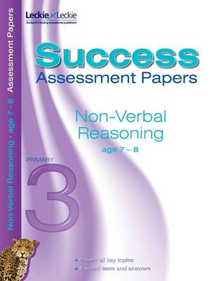 Non-Verbal Reasoning Assessment Papers 7-8 by Pamela Macey