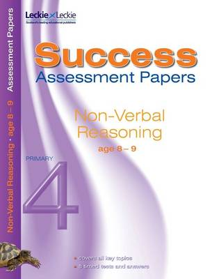 Non-Verbal Reasoning Assessment Papers 8-9 by Pamela Macey