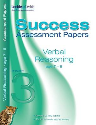Verbal Reasoning Assessment Papers 7-8 by Alison Primrose