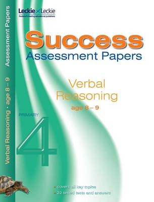 Verbal Reasoning Assessment Papers 8-9 by Alison Primrose