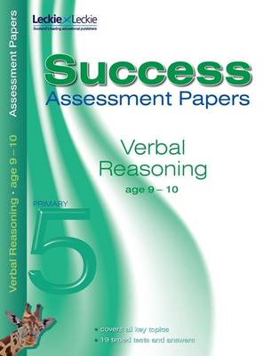 Verbal Reasoning Assessment Papers 9-10 by Alison Primrose