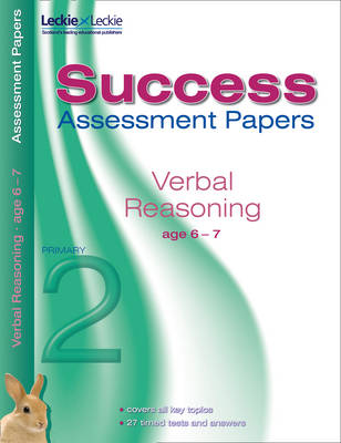 Assessment Papers Verbal Reasoning 6-7 Years by Alison Head