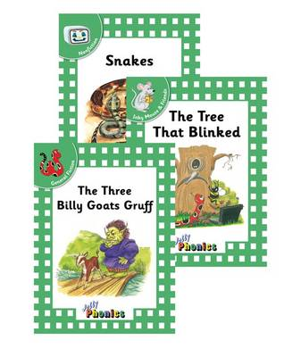 Jolly Phonics Readers, Complete Set In Precursive Letters (BE) by Sara Wernham, Jolly Learning Ltd.