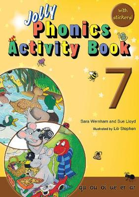 Jolly Phonics Activity Book 7 qu, ou, oi, ue, er, ar by Sue Lloyd, Sara Wernham