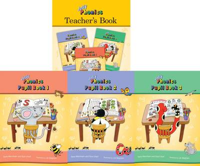 Jolly Phonics Class Set in Print Letters by