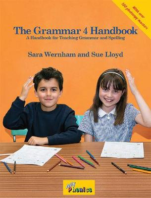 The Grammar 4 Handbook in Precursive Letters (BE) by Sara Wernham, Sue Lloyd
