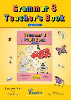 Grammar 3 Teacher's Book (in Print Letters) Teaching Grammar, Spelling and Punctuation with the Grammar 3 Pupil Book by Sara Wernham, Sue Lloyd