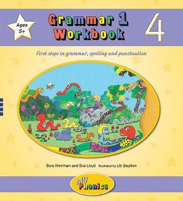 Grammar 1 Workbook 4 In Precursive Letters (BE) by Sara Wernham, Sue Lloyd