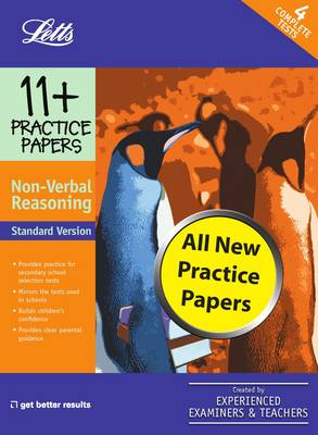 Standard Non-Verbal Reasoning Practice Test Papers by