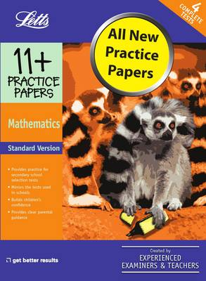 Standard Maths Practice Test Papers by