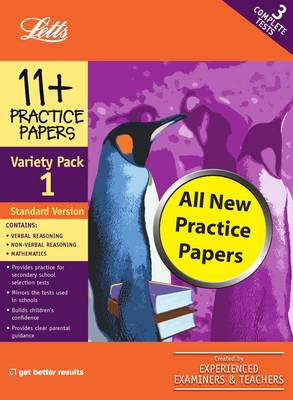 Standard Variety Pack 1 Practice Test Papers by