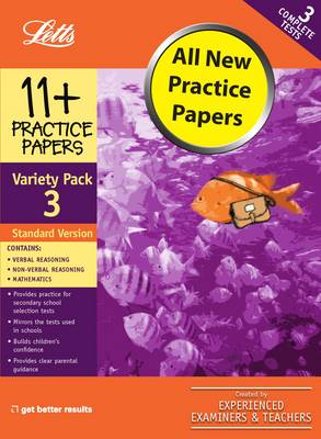 Standard Variety Pack 3 Practice Test Papers by