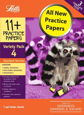 Standard Variety Pack 4 Practice Test Papers by