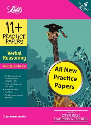 Multiple Choice Verbal Reasoning Practice Test Papers by
