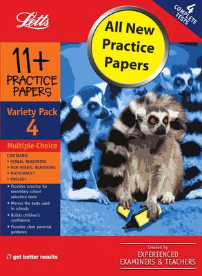 Multiple Choice Variety Pack 4 Practice Test Papers by