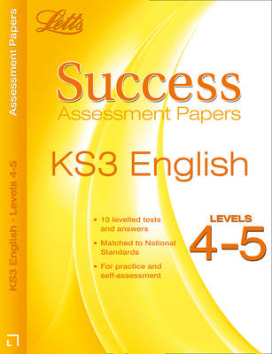 English Levels 4-5 Assessment Papers by Cherie Rowe