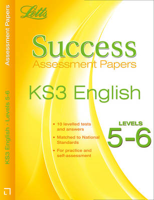 English Levels 5-6 Assessment Papers by Cherie Rowe