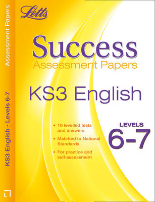 English Levels 6-7 Assessment Papers by Cherie Rowe