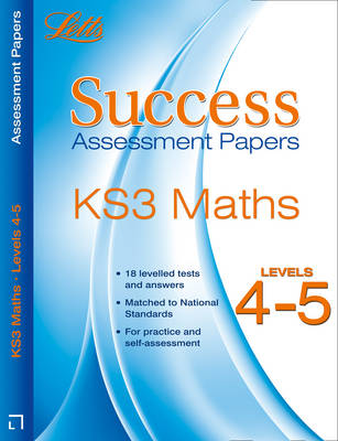 Maths Levels 4-5 Assessment Papers by Bob Hartman