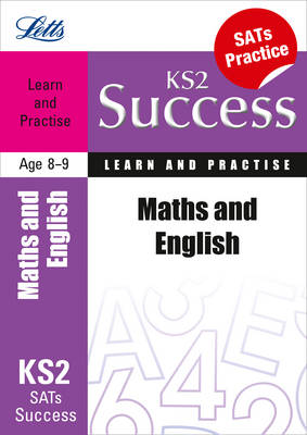Maths & English Age 8-9 Learn & Practise by Paul Broadbent, Lynn Huggins-Cooper