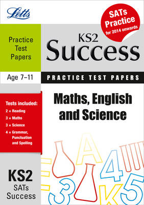 Maths, English and Science Practice Test Papers by Jon Goulding, Jason White, Jackie Clegg, Rachel Axten-Higgs