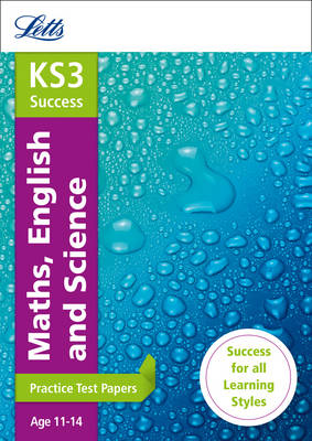 KS3 Maths, English and Science Practice Test Papers by Letts KS3