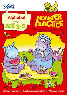 Letts Monster Practice Alphabet Age 3-5 by Carol Medcalf, Becky Hempstock, Letts Monster Practice