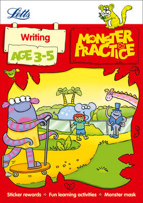 Writing Age 3-5 by Carol Medcalf, Becky Hempstock, Letts Monster Practice