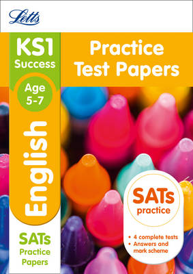 KS1 English SATs Practice Test Papers 2018 Tests by Letts KS1