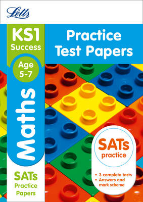 KS1 Maths Practice Test Papers by Letts KS1