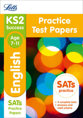 KS2 English SATs Practice Test Papers by Letts KS2