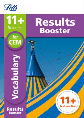11+ Vocabulary Results Booster for the CEM tests Targeted Practice Workbook by Letts 11+, Philip McMahon