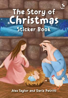 The Story of Christmas Sticker Book by Alex Taylor