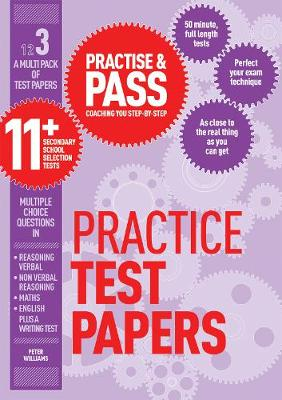 Practise & Pass 11+ Level Three: Practice Tests Variety Pack 1 by Peter Williams