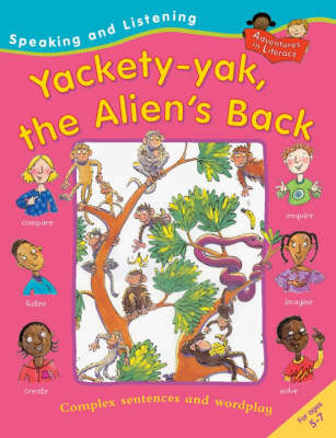 Yakety Yak the Alien's Back by Ruth Thomson, Pie Corbett