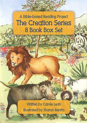 Bible Reading Project The Creation Series 8 Book Box Set by Carole Leah