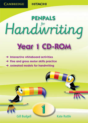 Penpals for Handwriting Year 1 CD-ROM by Gill Budgell, Kate Ruttle