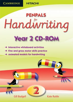 Penpals for Handwriting Year 2 CD-ROM by Gill Budgell, Kate Ruttle