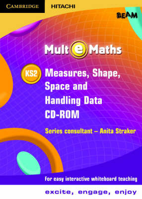 Mult-e-Maths KS2 Measures, Shape, Space and Handling Data CD ROM by BEAM Education Ltd.