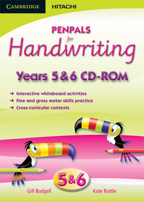 Penpals for Handwriting Years 5/6 CD-ROM by Gill Budgell, Kate Ruttle