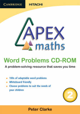 Apex Maths Word Problems CD-ROM 2 by Peter Clarke