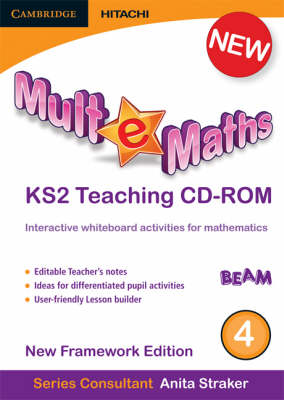 Mult-e-Maths Teaching CD-ROM 4 New Framework Edition by Ann Montague-Smith, Paul Harrison, Anita Straker