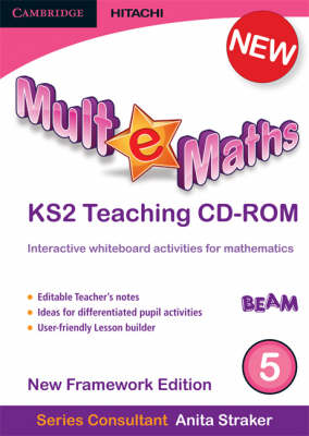 Mult-e-Maths Teaching CD-ROM 5 New Framework Edition by Ann Montague-Smith, Paul Harrison, Anita Straker