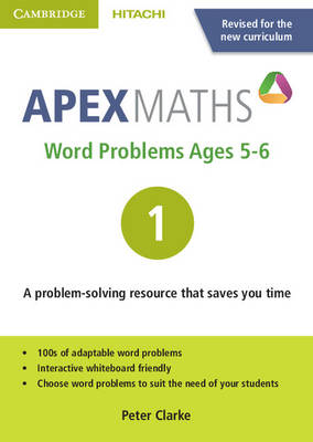 Apex Word Problems Ages 5-6 DVD-ROM 1 UK Edition by Peter Clarke