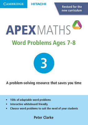 Apex Word Problems Ages 7-8 DVD-ROM 3 UK Edition by Peter Clarke