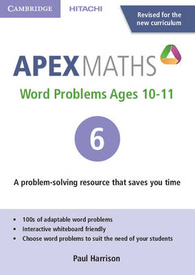 Apex Word Problems Ages 10-11 DVD-ROM 6 UK Edition by Paul Harrison