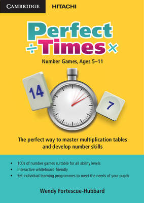 Perfect Times DVD-ROM UK Edition Number Games, Ages 5-11 by Wendy Fortescue-Hubbard